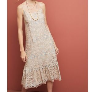 Anthropologie Eri + Ali Twilight Lace Dress